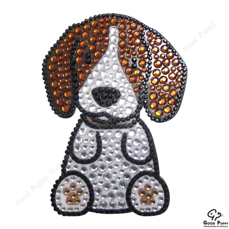 加拿大進口狗狗寵物水鑽貼紙-米格魯92951 Beagle* 手機/平板/電腦/iPad/iPhone/小禮物/贈品