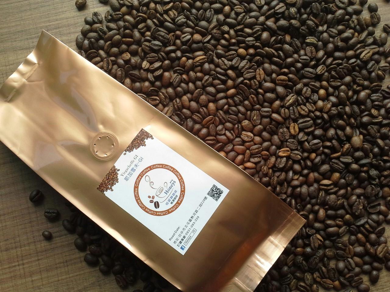 【Honeys 】耶加雪夫G1(水洗)咖啡豆 (半磅)