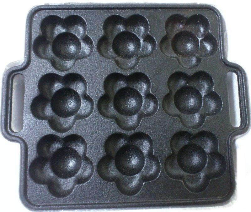 花 蛋糕模 造型燒烤盤 鬆餅模 車輪餅 紅豆餅 雞蛋糕 鬆餅