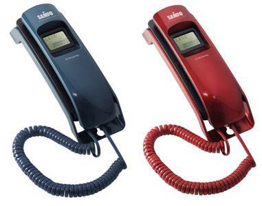 【SAMPO聲寶】來電顯示有線電話 HT-W1201WL(藍綠/紅)《免運費》