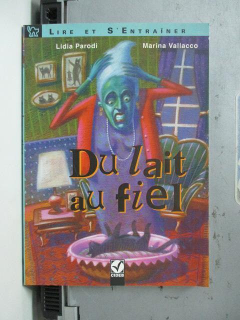 【書寶二手書T1/原文小說_NBQ】Du Lait Au Fiel_Marina Vallacco