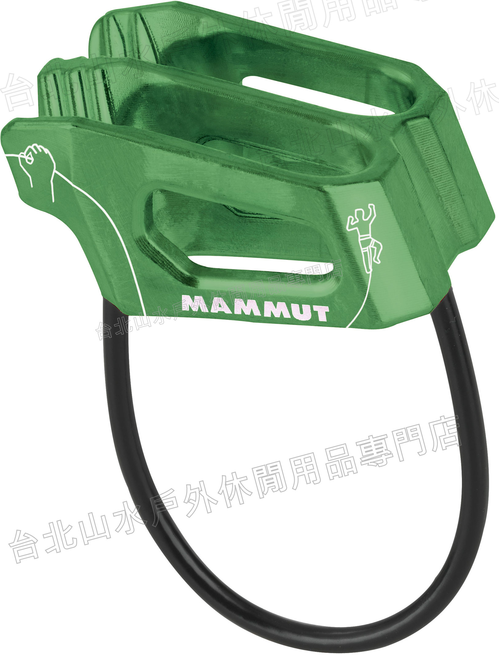 [ Mammut 長毛象 ] 確保器/豬鼻子/制動器 Crag Light Belay 2210-01101 綠