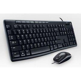 羅技 MK200 多媒體USB鍵鼠組(批發可議)