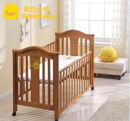 【特惠組】黃色小鴨嬰兒床+7件床被組(3色)