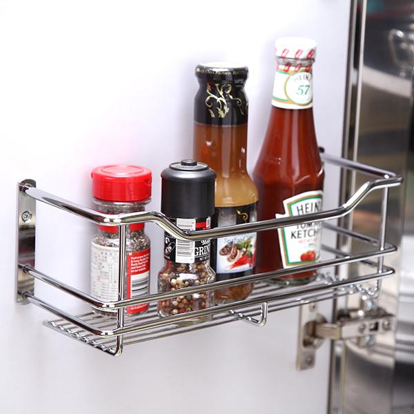 調味罐架 置物架 廚房收納【D0050】不鏽鋼門後板瓶罐收納架 MIT台灣製 完美主義