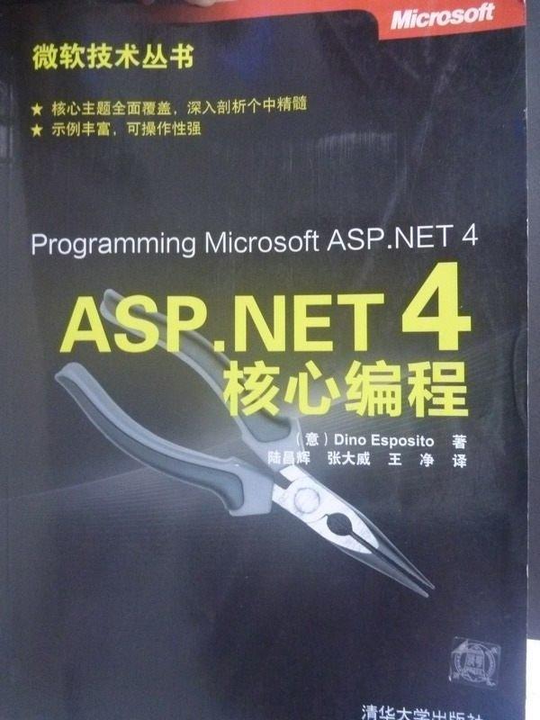 【書寶二手書T5/大學資訊_ZED】ASP.NET 4核心編程_埃斯帕西托_簡體書