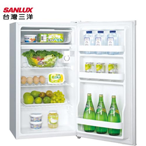 SANLUX 台灣三洋  冰箱 SR-93A5/SR-B93A5能源效率1級92L