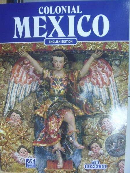 【書寶二手書T5/藝術_YCN】Colonial MEXICO