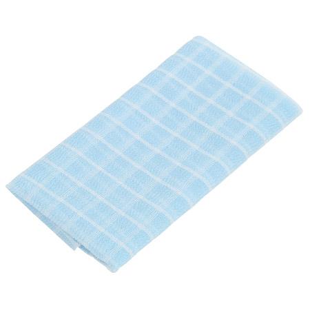 沐浴巾 格紋柔膚 晨曦藍