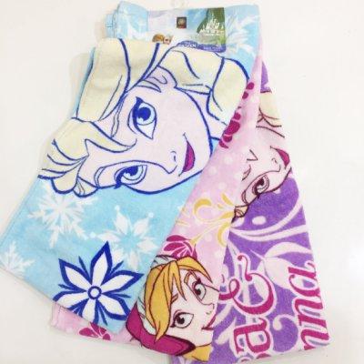冰雪奇緣 Frozen 艾莎 ELSA 安娜 ANNA 運動毛巾 毛巾 浴巾 居家 正版日本進口 JustGirl