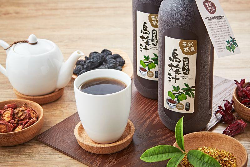 【天然恏食】 手作桂花黑糖烏梅汁