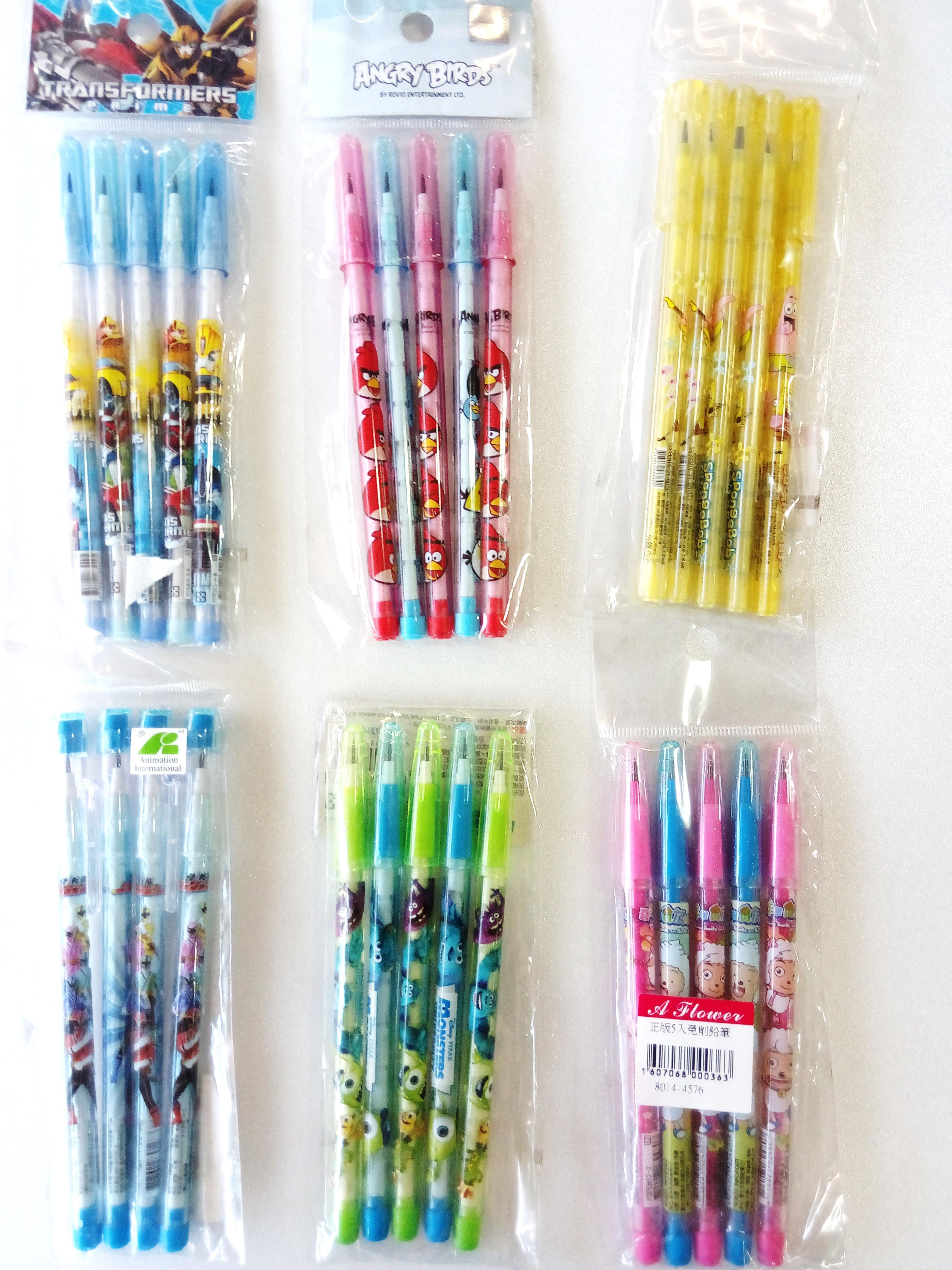 特價!正版免削鉛筆 /  買一組即送一組六入積木筆