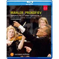 馬勒一號「巨人」~王羽佳與阿巴多在琉森音樂節 Abbado Conducts Mahler No. 1 & Prokofiev Piano Concerto No. 3 (藍光Blu-ray) 【EuroArts】