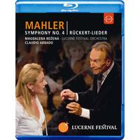 馬勒:第四號交響曲&呂克特之歌~阿巴多指揮琉森節慶管弦樂團 Lucerne Festival 2009 - Abbado conducts Mahler No. 4 Ruckert Lieder (藍光Blu-ray) 【EuroArts】