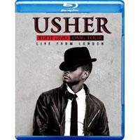 亞瑟小子:2011年OMG倫敦O2演唱會 Usher: OMG Tour Live at the O2 London (藍光Blu-ray) 【Evosound】