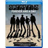 天蠍合唱團:永遠的一天 Scorpions: Forever And A Day + Live In Munich 2012 (2藍光Blu-ray) 【Evosound】