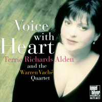 泰芮:我愛搖擺 Terrie Richards Alden: Voice with Heart (CD)