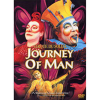 太陽劇團:人生之旅 CIRQUE DU SOLEIL: JOURNEY OF MAN (DVD)