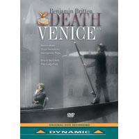 布瑞頓:歌劇《魂斷威尼斯》Benjamin Britten: Death In Venice (DVD)【Dynamic】