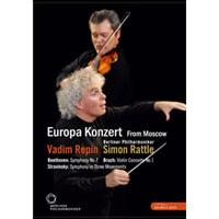 2008歐洲音樂會 柏林愛樂重返莫斯科 Rattle conducts Beethoven, Stravinsky & Bruch (DVD) 【EuroArts】