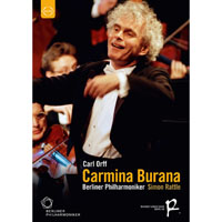 柏林除夕音樂會 卡爾.奧夫:布蘭詩歌 Sir Simon Rattle conducts Carmina Burana (DVD) 【EuroArts】