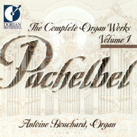 帕海貝爾管風琴作品集1Pachelbel: Complete Organ Works, Vol. 1  (CD)【Dorian】