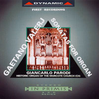 瓦勒吉:管風琴奏鳴曲 Valerj: 12 organ Sonatas (CD)【Dynamic】