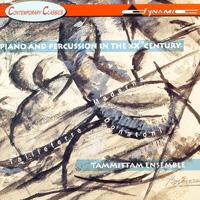 20世紀鋼琴與打擊樂名曲 Tammittam Ensemble: Piano and Percussion in the 20th century (CD)【Dynamic】