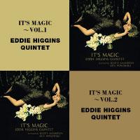 艾迪希金斯四重奏、史考特漢彌頓&肯皮普洛斯基:浪漫魔咒 第一集+第二集 Eddie Higgins Quintet Featuring Scott Hamilton & Ken Peplowski: It's Magic Vol.1&2 (限量2CD豪華決定盤)【Venus】