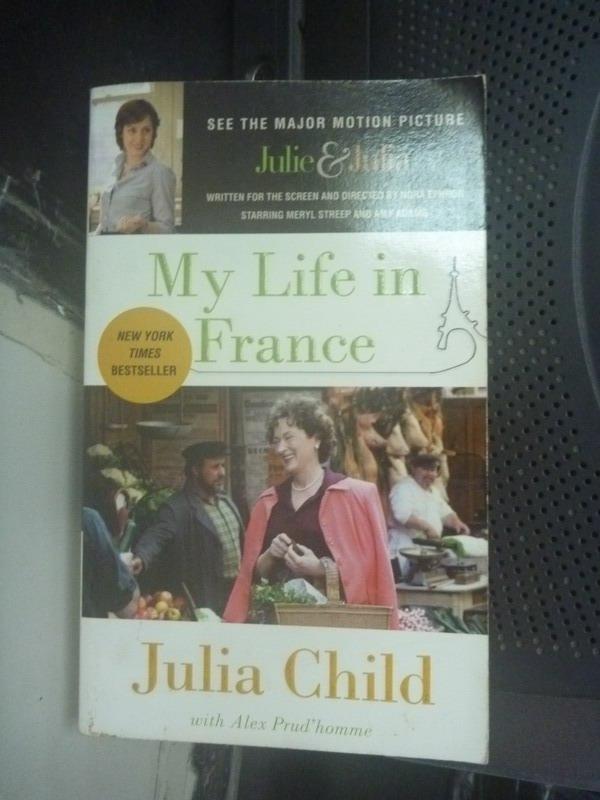 【書寶二手書T3/原文小說_IHW】My Life in France_Julia Child