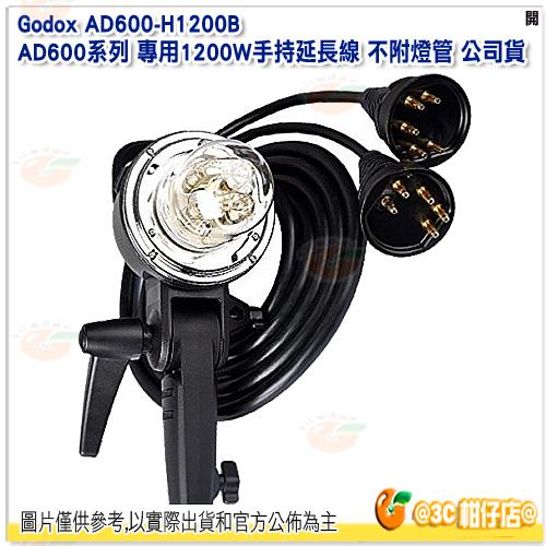 神牛 Godox AD600-H1200B AD600系列 專用1200W手持延長線 不附燈管 公司貨 1.73米 保榮卡口 Bowens