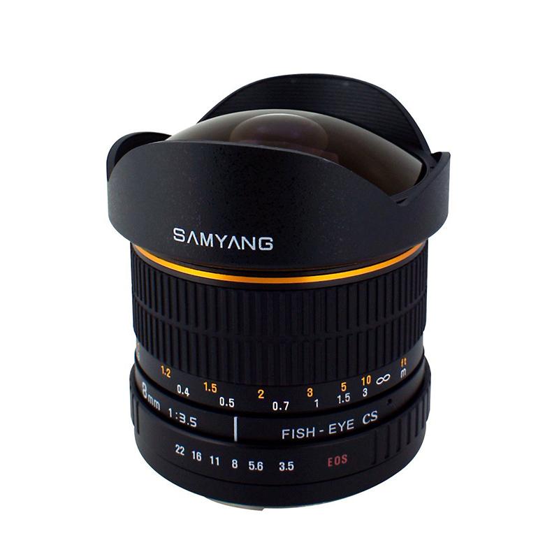◎相機專家◎ SAMYANG 8mm F3.5 AE Fisheye for Nikon APS-C 手動鏡 正成公司貨