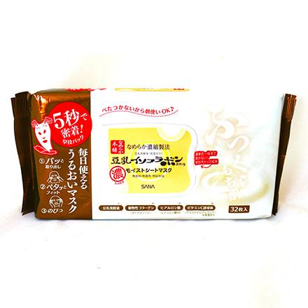 [敵富朗超市]SANA豆乳美肌5秒服貼美日面膜(32枚入)