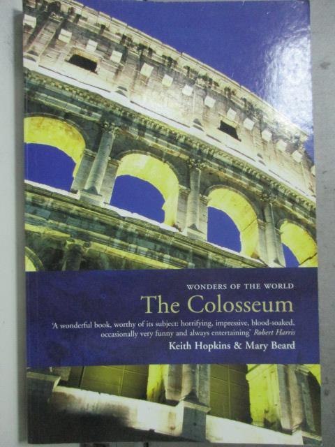 【書寶二手書T1/原文小說_HCJ】The Colosseum_Keith Hopkin & Mary Beard