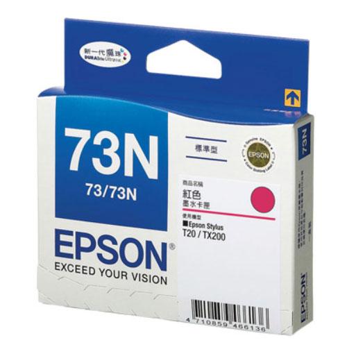 【EPSON 墨水匣】T105350 73N 原廠紅色原廠墨水匣
