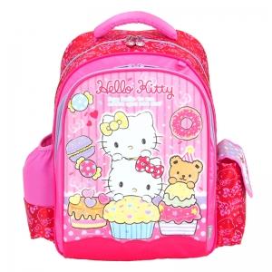 X射線【C943959】Kitty護脊書包S(蛋糕mimi.紅色),開學必備/兒童書包/雙肩包/手提包/卡通/後背包/sanior