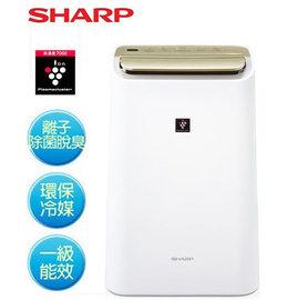 SHARP 夏普 DW-E10FT 10L 除濕機 自動除菌離子溫濕感應清淨&除濕兩用機 HEPA除菌專用 公司貨