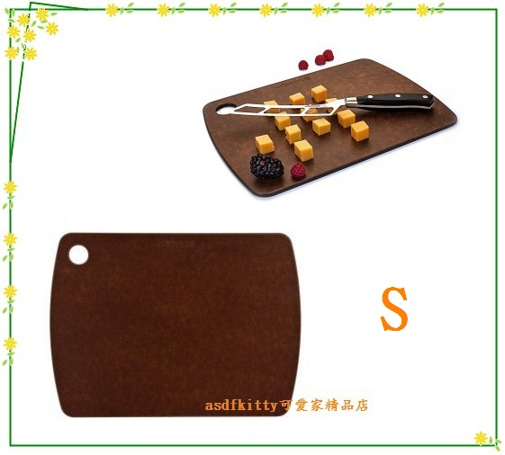 asdfkitty可愛家☆西班牙ARCOS薄型砧板/切菜板-S-可當切水果板.切麵包.起司...西班牙製