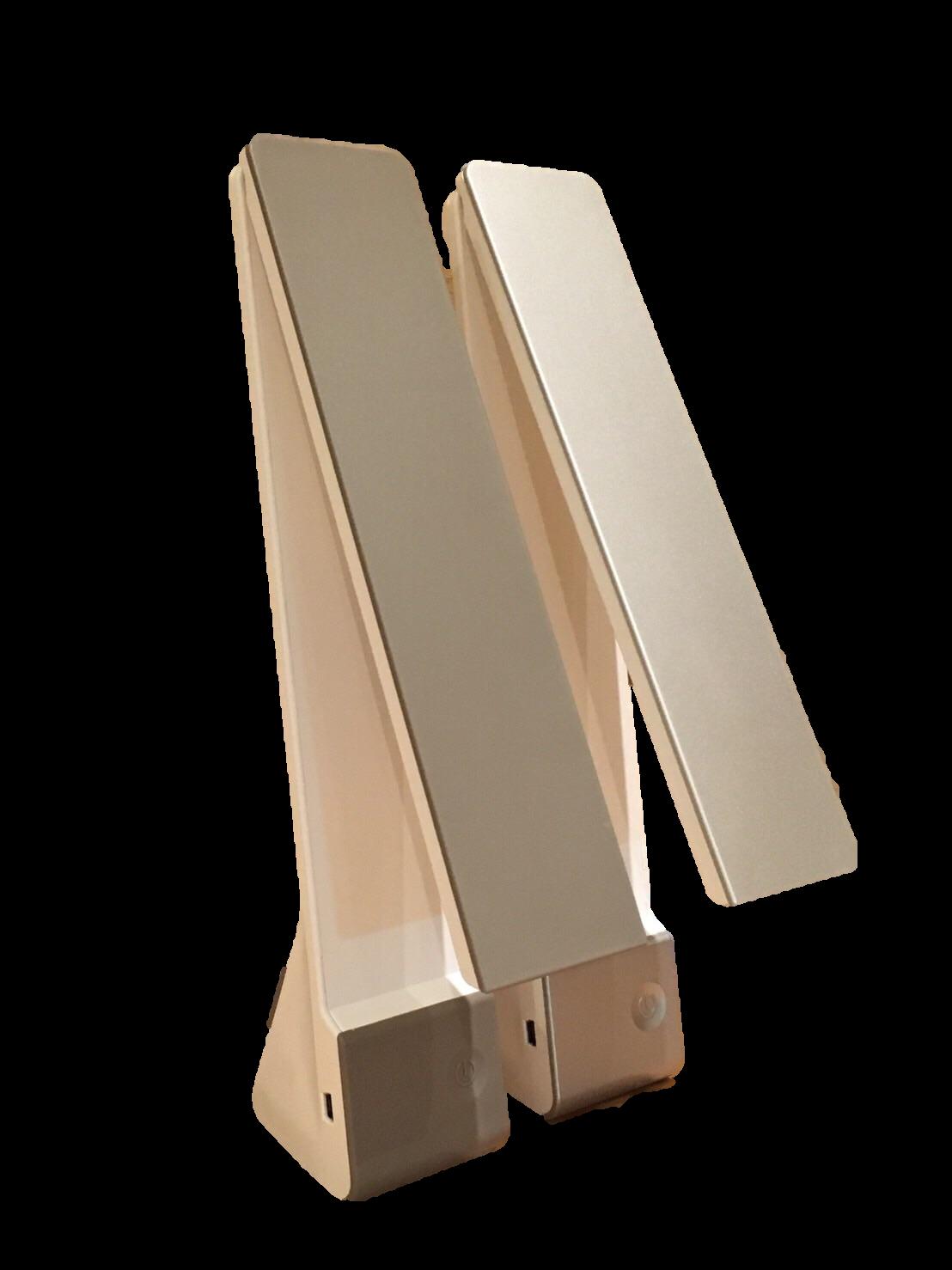 @免運@LED無線隨身檯燈/4w/USB充電/移動照明/擺設隨心所欲 /三段式燈光可調