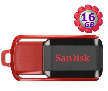 SanDisk 16GB 16G Cruzer Switch【CZ52】CZ 52 SDCZ52 SDCZ52-016G USB 2.0 原廠包裝 隨身碟