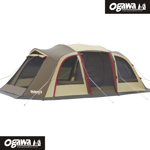 Velero5 帆船5號 Ogawa帳篷 小川帳篷 一房一廳帳