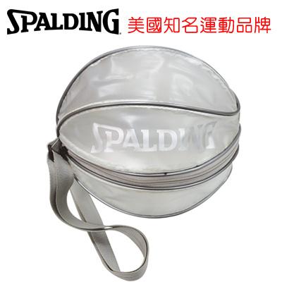 永昌文具【SPALDING】 斯伯丁 袋類系列 SPB5309N91 單顆裝籃球瓢蟲袋(銀) /個
