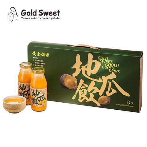 黃金甜蜜-地瓜飲禮盒(6入裝)
