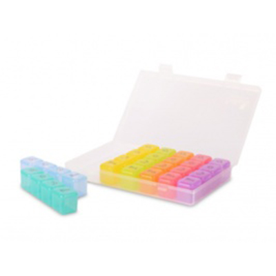 【Fullicon護立康】便攜式七日彩虹藥盒/隨身盒/收納盒 MB003