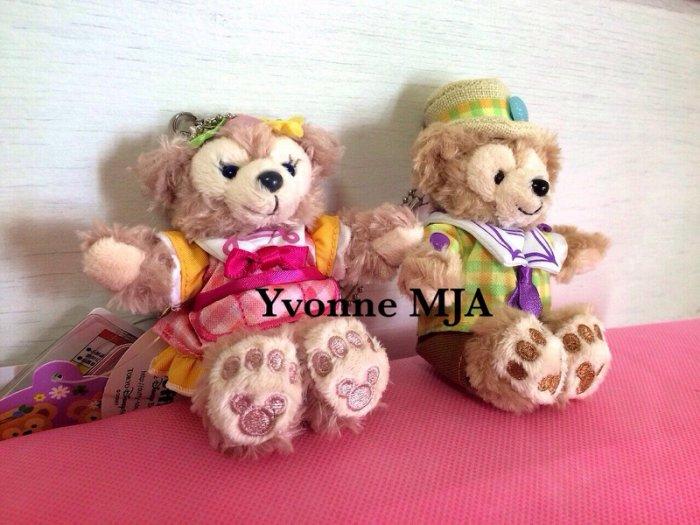 *Yvonne MJA日本代購*東京迪士尼海洋樂園限定正品Duffy達菲熊雪莉玫(春巡)限定坐姿吊飾