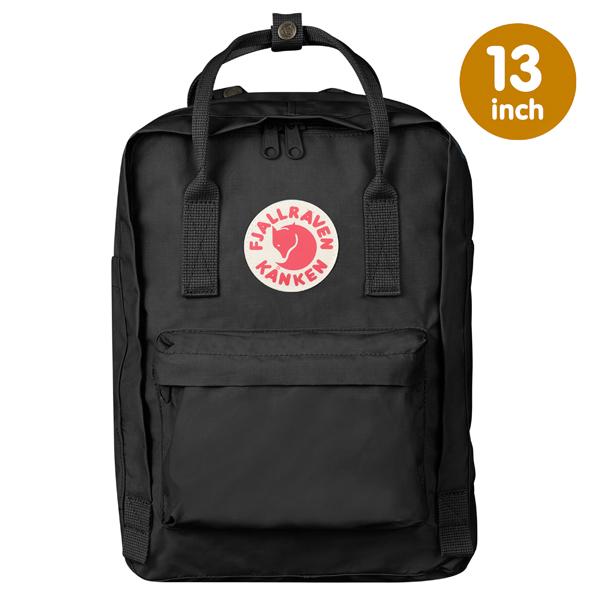 【鄉野情戶外專業】 Fjallraven |瑞典|  小狐狸 Kanken Laptop 13inch 方型書包 方型背包 電腦包 (黑) _27171