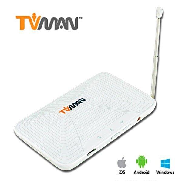 *╯新風尚潮流╭* 傳揚 紐沃科技 Tvman WiFi行動版 無線數位電視接收器 TVMAN-WIFI