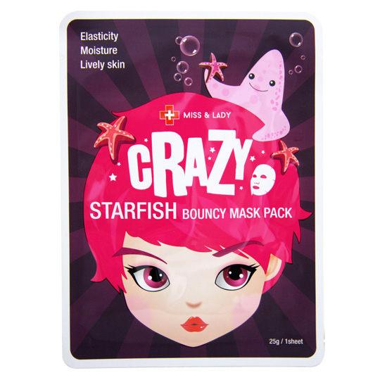 【韓國Miss&Lady】Crazy海星彈力面膜