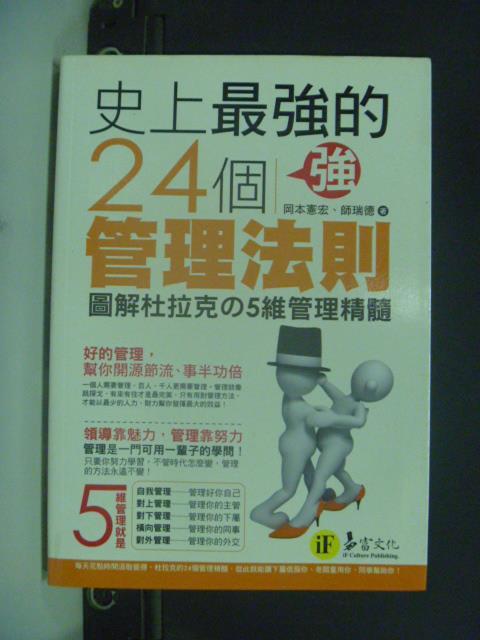 【書寶二手書T7/財經企管_GEG】史上最強的24個管理法則_岡本憲宏