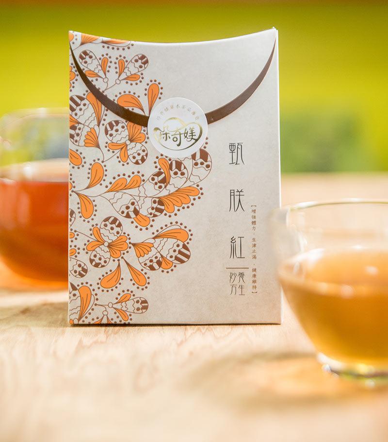 【垛奇媄】甄朕紅(台灣金線連/薑/紅茶)茶包(20公克)